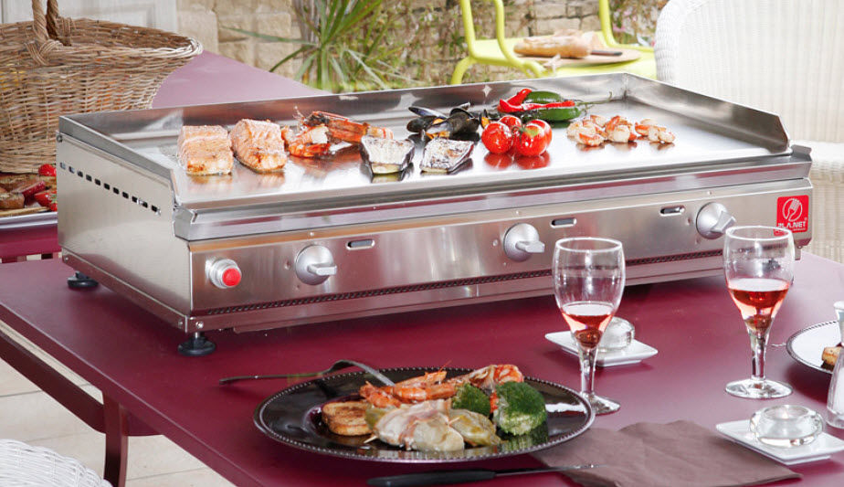 PLANCHA PLANET Griddle Barbecue Outdoor Miscellaneous  |