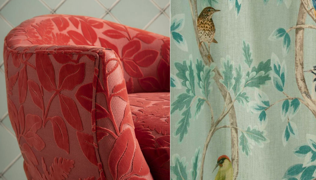 Osborne & Little Velvet Furnishing fabrics Curtains Fabrics Trimmings  |