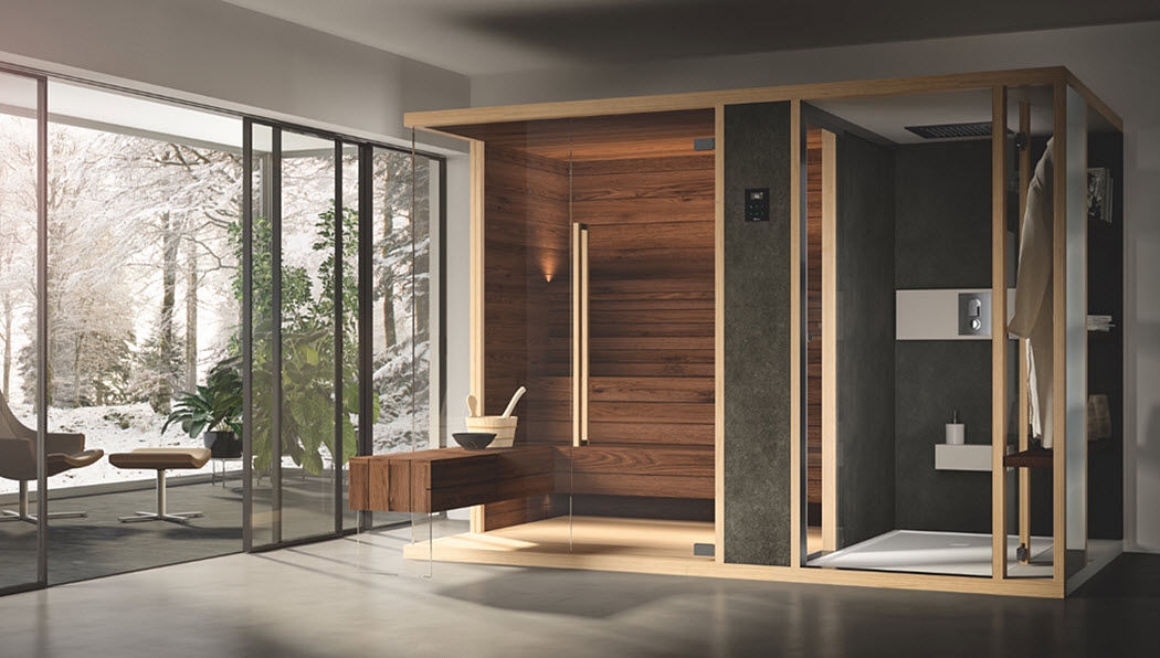ALBATROS WELLNESS Sauna Sauna & hammam Bathroom Accessories and Fixtures  |