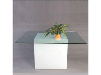 TossB - table lumineuse carr�e square - Illuminated Dining Table