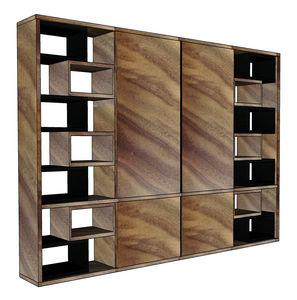 Ph Collection - livia - Sliding Door Bookcase