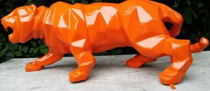 Tex-Artes - panthere - Animal Sculpture
