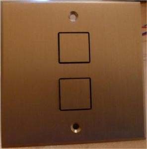 L'atelier D'argent Wall push button
