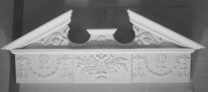 London Plastercraft Door pediment