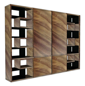 Sliding-door bookcase