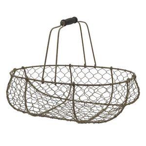 Chemin De Campagne Wire egg basket