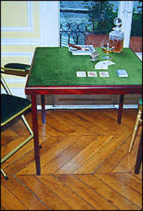 Essezeta Bridge table