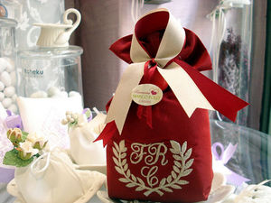 Ricameria Marco Polo Christening/confirmation sweet favour