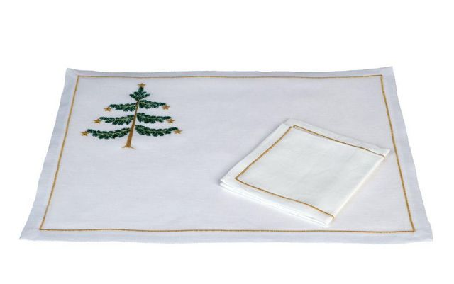 Christmas place mat-Noel