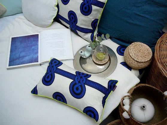 Rectangular cushion-MAISON MALOU