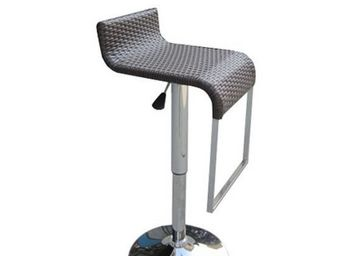 UsiRama.com - surfacourbe tabouret de bar en résine tressée - Bar Stool