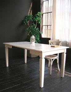 BLEU PROVENCE - lavande blanc - Extending Leaf Table