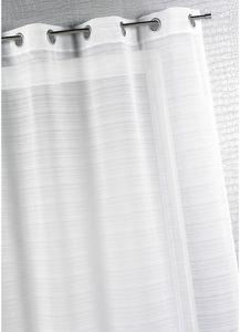 HOMEMAISON.COM - voilage fantaise à fines rayures - Net Curtain