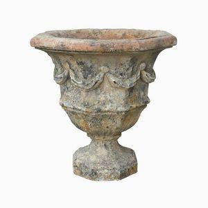 TERRES D'ALBINE - vase octogonal - Garden Vase