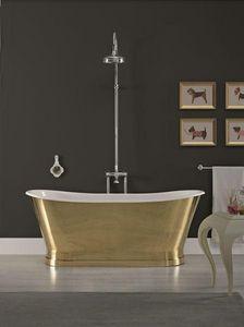 BLEU PROVENCE - antica laiton - Freestanding Bathtub
