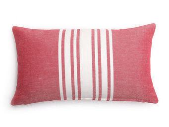 Jean Vier - saint jean de luz cerise - Cushion Cover