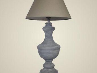 L'HERITIER DU TEMPS - grande lampe electrique en fer - Bedside Lamp