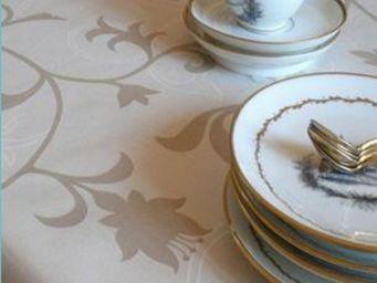 FLEUR DE SOLEIL - arabesque - Square Tablecloth