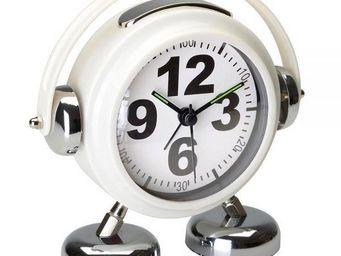 La Chaise Longue - réveil little dj blanc - Alarm Clock