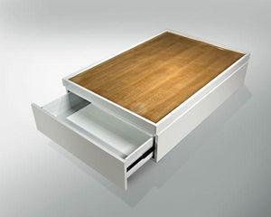 ARTEZEN - berceau - Coffee Table With Drawers