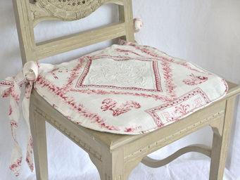 Coquecigrues - galette de chaise fortuna - Chair Seat Cover