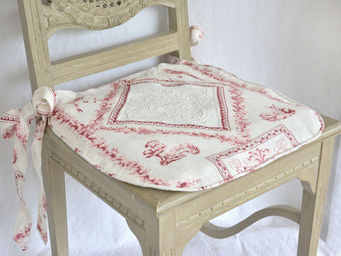 Coquecigrues - galette de chaise fortuna - Chair Seat Cover