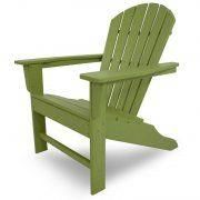 Casa Bruno - south beach adirondack verde lima - Garden Chair