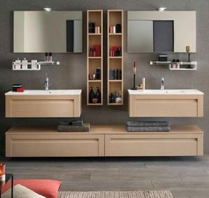 Delpha - unique wood, - Bathroom Furniture