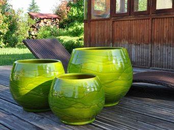 Les Poteries D'albi - -bahia - Flower Container