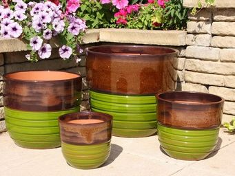 Les Poteries Clair de Terre - séquoia - Flower Container