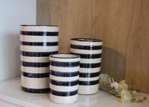 Les Poteries Clair de Terre - yin yang - Flower Vase