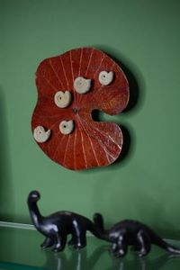 ANNSUS -TAKE A LOOK * FOSSIL-ART -  - Wall Decoration