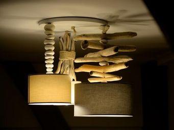 Coc'Art Créations -  - Hanging Lamp