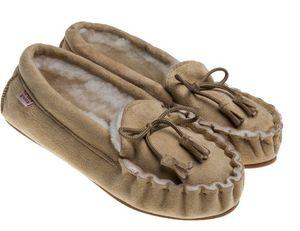 BABBI - winnetou veg beige-femme - Slippers