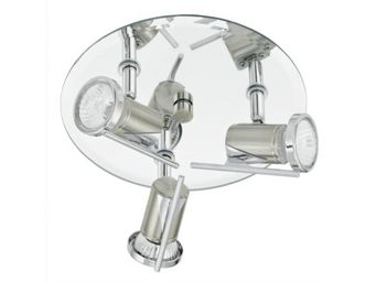 Eglo - plafonnier rond 3 spots tamara - Ceiling Lamp