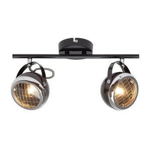 Brilliant - rider - plafonnier 2 spots noir l37cm | lustre et  - Ceiling Lamp