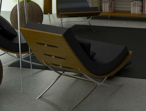 ANSWERDESIGN - okoum - Fireside Chair