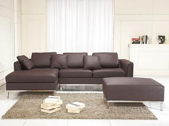 BELIANI - canapés en cuir - Adjustable Sofa