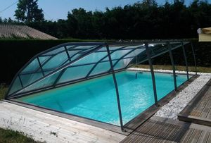 Abri-Integral -  - Low Removable Pool Enclosure