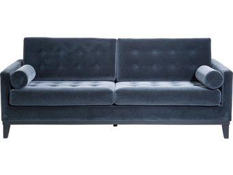Kare Design - canapé 3 places casino gris foncé - 3 Seater Sofa