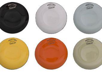 Antic Line Creations - assiettes à dessert colorées (par 6) - Dessert Plate
