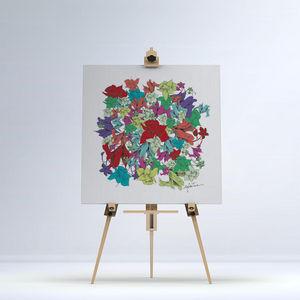 la Magie dans l'Image - toile fleurs motifs - Digital Wall Coverings