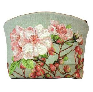 Art De Lys - aubépines, fond clair - Makeup Bag