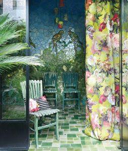 JEAN PAUL GAULTIER / Lelievre - - nature et découverte - Upholstery Fabric
