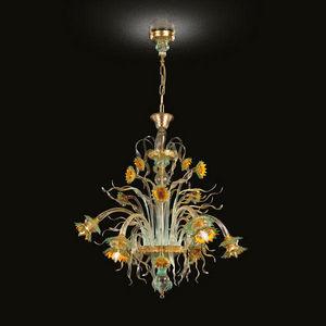 MULTIFORME - girasole - Chandelier Murano