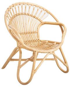 Aubry-Gaspard - fauteuil en rotin naturel - Armchair