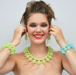 INEKE OTTE - rat green - Bracelet