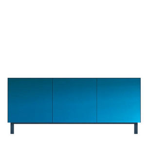 ANOTHER BRAND - cubo - 3 portes finition miroir - Chest Of Drawers