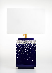 Emaux De Longwy - darksnow - Table Lamp