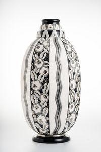 Emaux De Longwy - tradition - Large Vase